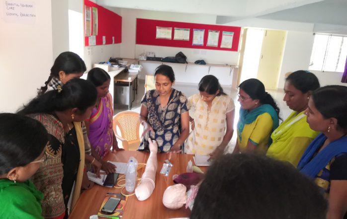 Skill lab training 2