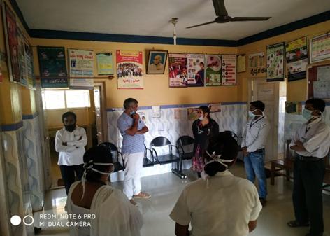 Venkat Chekuri along with MLA Sri Nagesh of Tiptur Taluk visited Halkurike